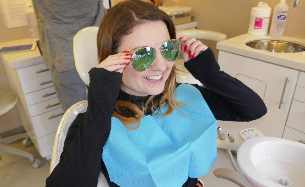 Dental patients in the big chair at Archer Dental Rosedale