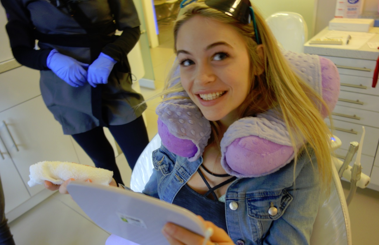 Miss World Canada gets teeth whitening at Archer Dental