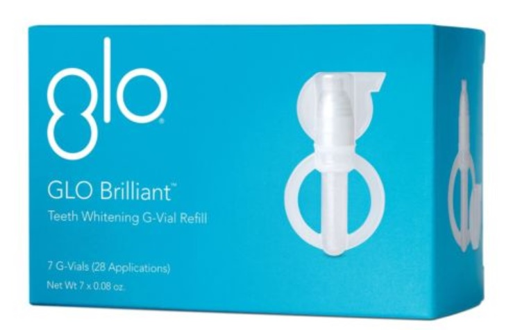 GLOW Brilliant - teeth whitening G-Vial Refill