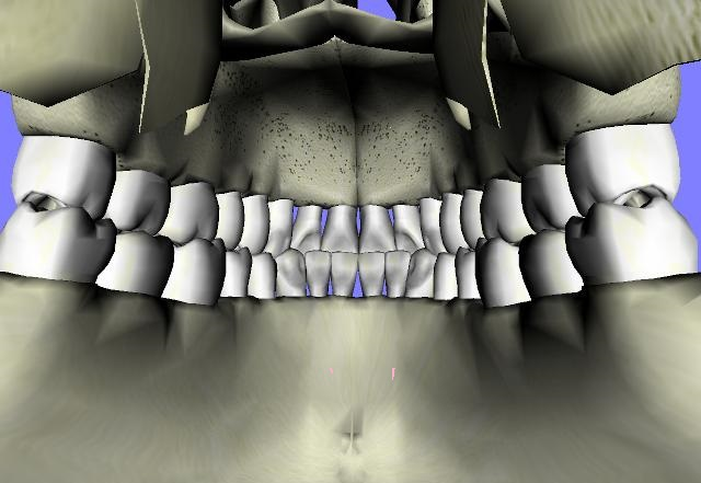 CGI inside human mouth