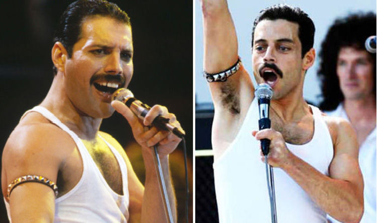 Rami Malek wore prosthetic front teeth to play Freddie Mercury in Bohemian Rhapsody