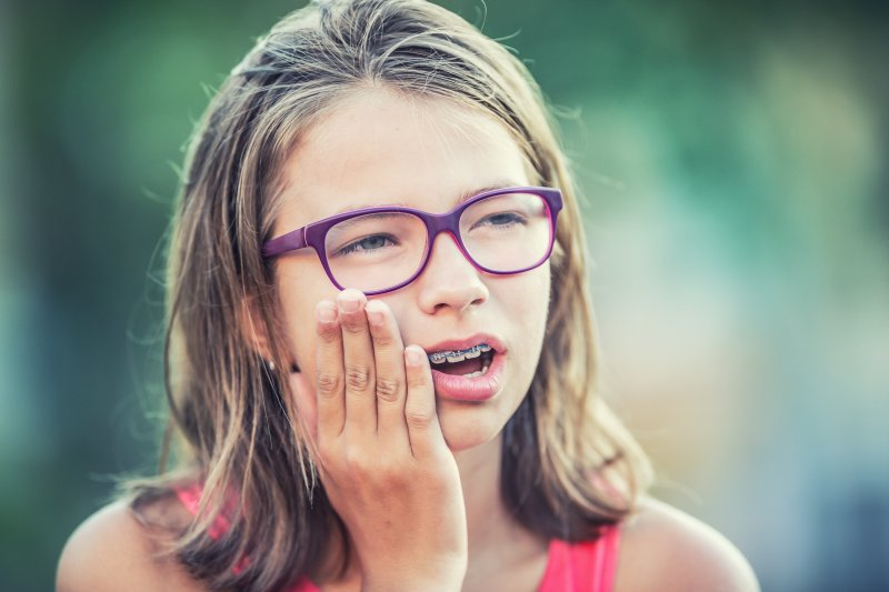 why toothache girl in pain asks