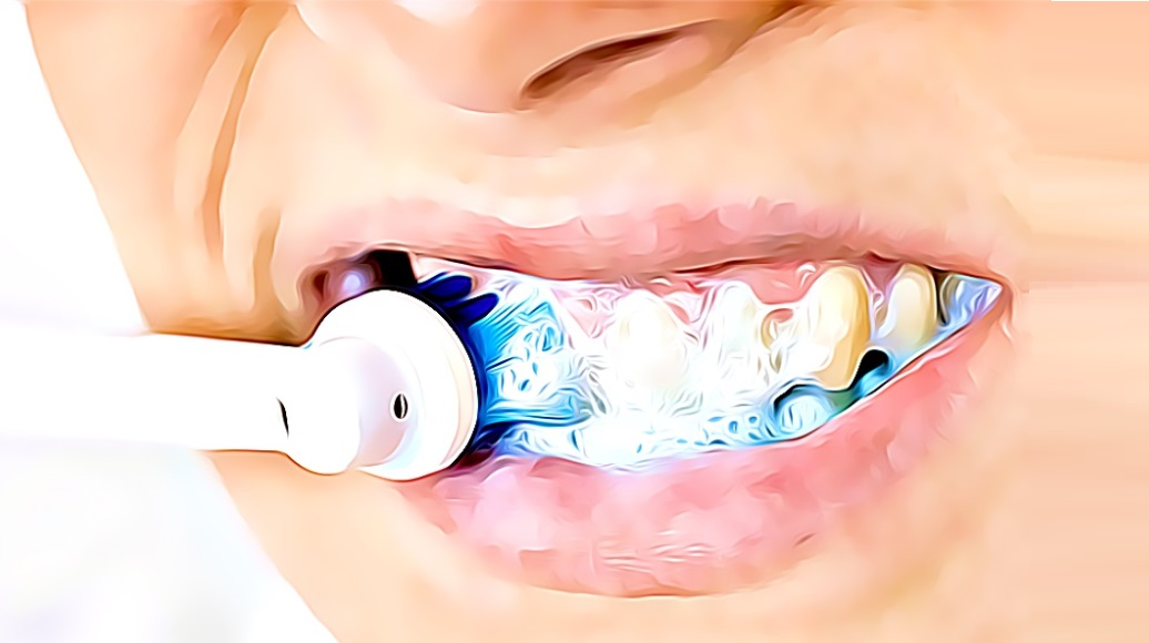 polish teeth for oral hygiene - amazing oral care reduces toothaches