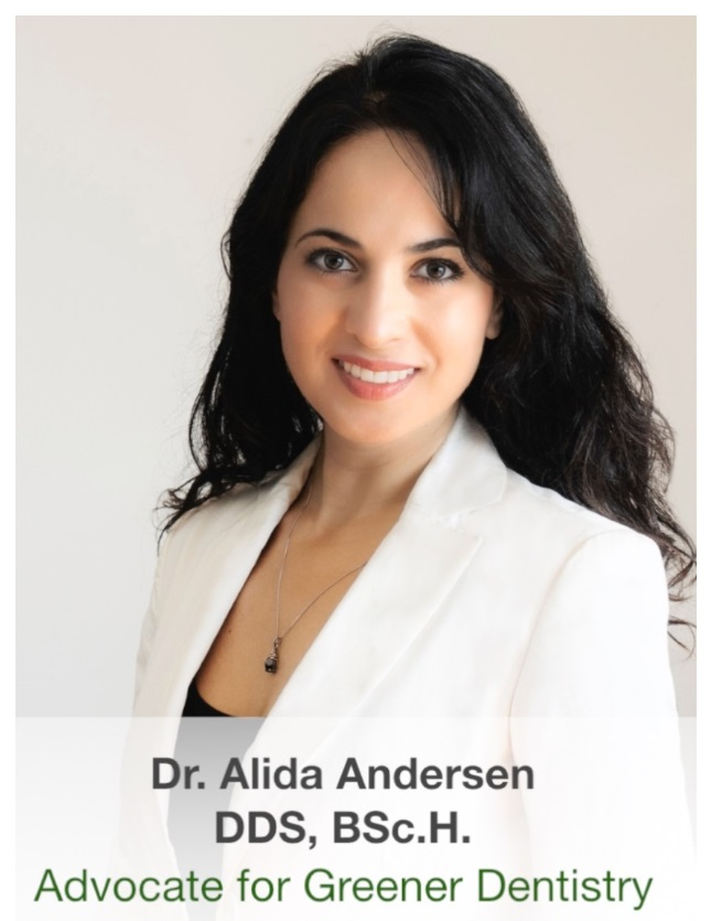Dr. Alida Anderson, a green dentist in Toronto