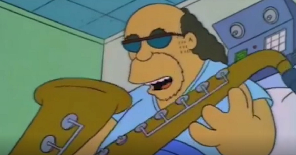 Bleeding Gums Murphy, saxophone Lisa
