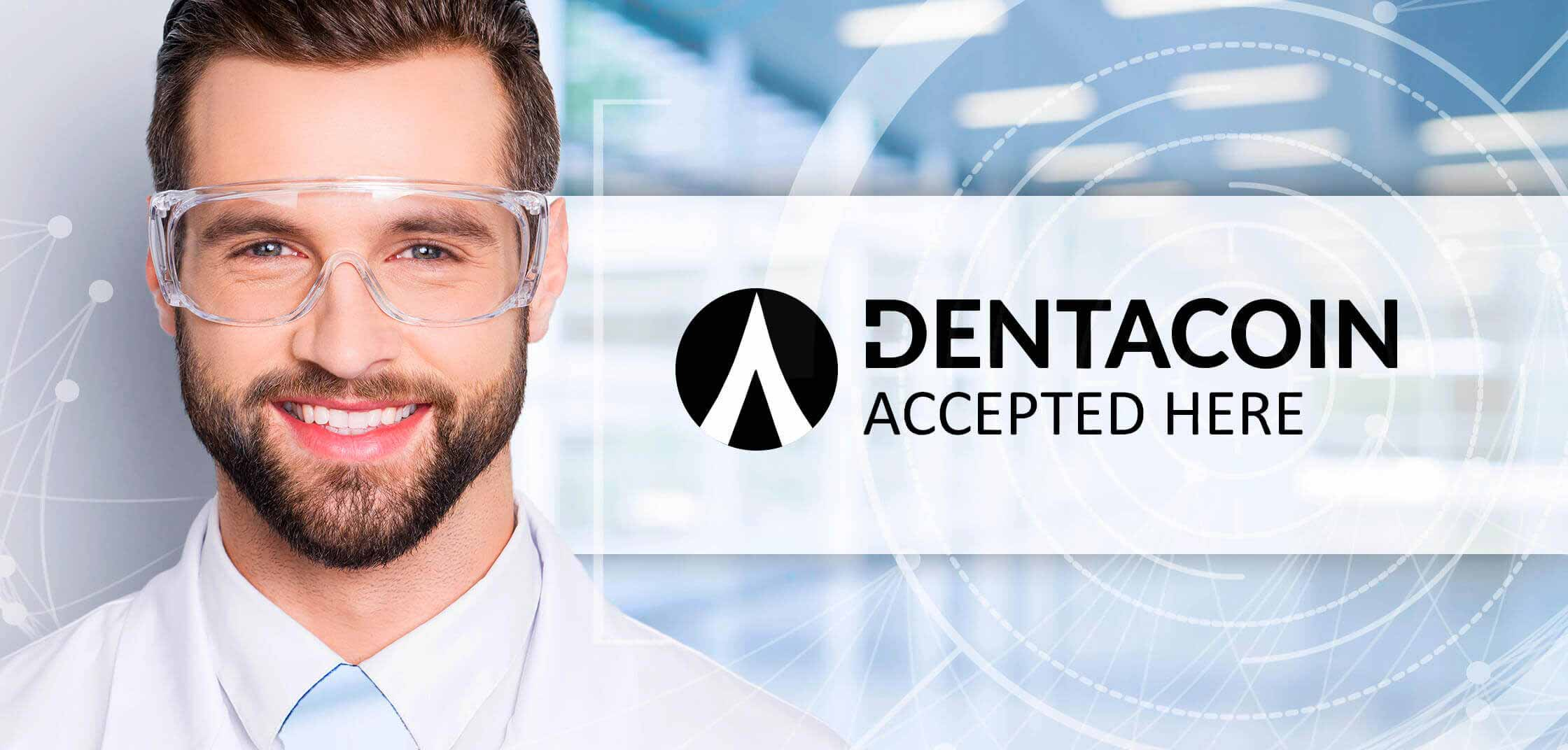 Dentacoin accepted here